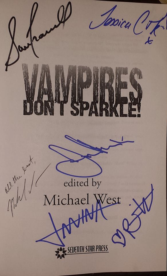 True Blood signatures