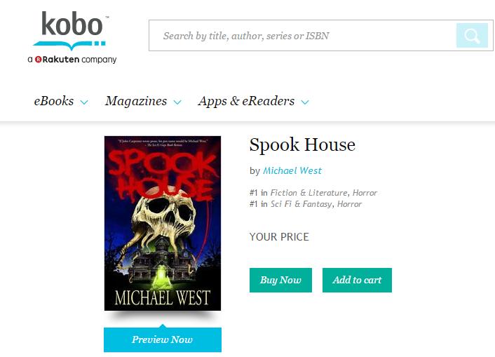 Spook House Kobo Bestseller
