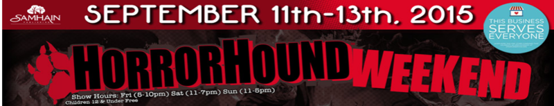 HorrorHound 2015 Banner