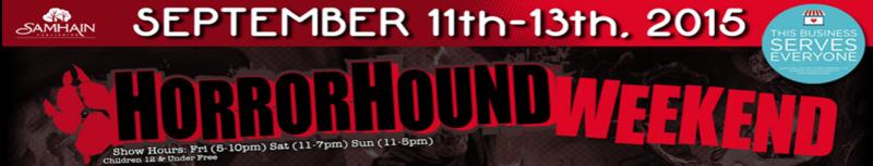 HorrorHound 2015 Banner