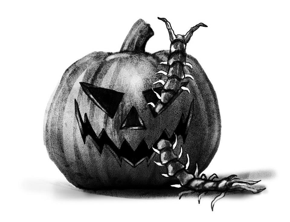 Spook House Jack-O-Lantern
